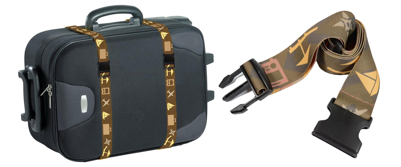 Cinturón de maleta